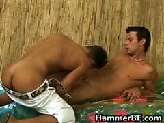 Hardcore Outdoor Gay Bareback Fucking Porn Video 2 By HammerBF