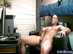 Beefed Buddy Masturbating On The Net 2 By Gotexbf