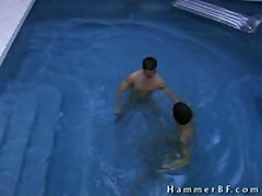 Pretty Boys Having Intercourse In Pool 1 By HammerBF