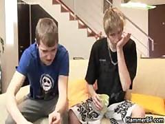 Twink Guys In Hardcore Gay Bareback Porn Videos 1 By HammerBF