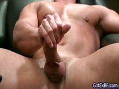Muscled Dude Wanking His Jizzster On The Net 5 By Gotexbf