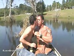 Luke And Carlos Outdoor Hard Fuck Adventure