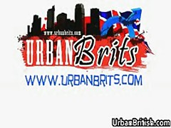Josh McKenzie And Ariel Cain Making Out On Old Lounge 17 By UrbanBritish