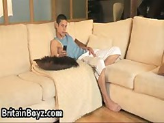 Sexy And Cute British Teens Jerking Their Stiff Cocks 1 By BritainBoyz