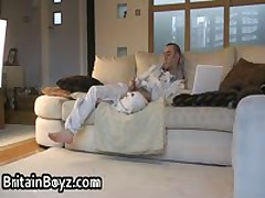 Hot Looking British Teens Playing With Their Tiny Dicks 4 By BritainBoyz