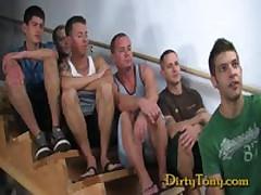 Five Guys One Bottom
