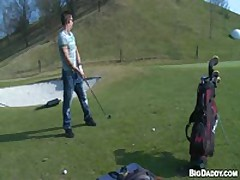 Bareback Sex On The Golf Course
