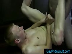 Blonde Good Looking Twinky Blows Bear Dick 6 By GayPrideVault