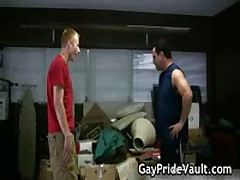 Hard Homo Hairy Fucked And Sucked Three By GayPrideVault