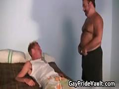 Blonde Bro Is Banged By Queer Teddy 3 By GayPrideVault