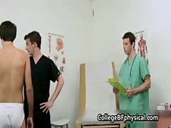 Parker Getting His Adolescent Penetrator Checked And Jerked By Doktor 2 By CollegeBFphysical