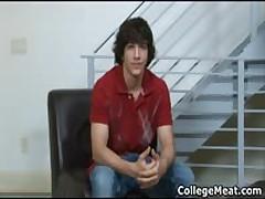 Chandler Cane Masturbating His Pretty School Schlong 1 By CollegeMeat