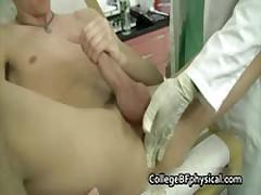 Mike Getting His Teenaged Schlong Inspected And Jerked By Doktor Three By CollegeBFphysical