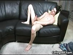 Alex Vaara Pulling His Fine School Rod 4 By CollegeBF
