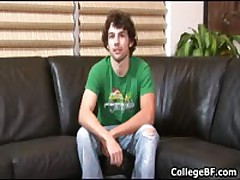 Glenn Philips Jerking His Fine School Sausage 1 By CollegeBF