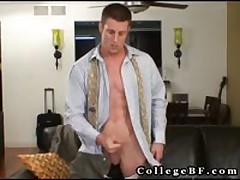 Muscular Rc Masturbating His Firm Weiner 5 By CollegeBF
