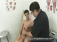 Mikey Getting His Adolescent Sausage Checked And Jerked By Doktor 2 By CollegeBFphysical