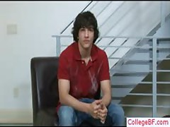 Good Looking School Bro Undressing By Collegebf