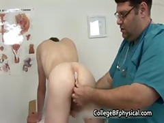 Corey Getting His Weiner Inspected And Getting Jerked By Doktor 2 By CollegeBFphysical