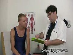 Jacob Gets His Sick Penis Examined And Tested If It Still Works 1 By CollegeBFphysical