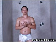 Lee Stephens Masturbating Under Shower 1 By Collegebf