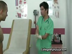 Jadizon Gets His Teenage Cock Examined By Doktor 2 By CollegeBFphysical