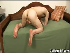 Jared Kent Pulling His Fine School Penis Three By CollegeBF