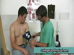 David Getting His Jizzster And Small Arse Inspected By Doktor Three By CollegeGayPhysical