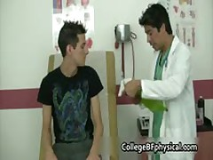 Mike Gets His Teenage Cock Examined And Jerked By Doktor 1 By CollegeBFphysical