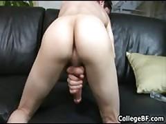 Alex Vaara Pulling His Fine School Weiner 3 By CollegeBF