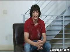 Chandler Cane Pulling His Great School Erection 1 By CollegeBF