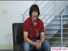 Cute College Guy Stripping By Collegebf