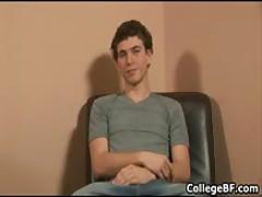 Alexander Green Jerking His Fine College Dick 1 By CollegeBF