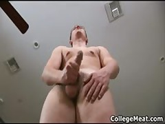 Chad Macon Jerking His Cute College Cock 2 By CollegeMeat