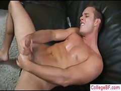 Guy Fingering Ass And Wanking His Penis By Collegebf