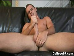 Devin Adams Wanking His Fine College Dick 2 By CollegeBF