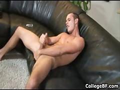 Devin Adams Wanking His Fine College Dick 2 By CollegeBF