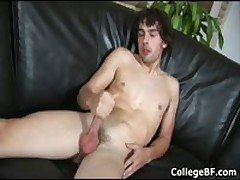 Glenn Philips Wanking His Fine College Cock 4 By CollegeBF