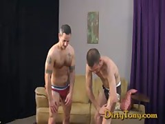 Str8 Stud Pounds Bottom Slut