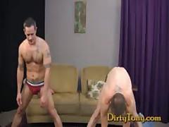Str8 Stud Pounds Bottom Slut