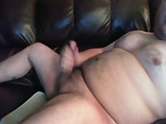 HUGE Cumshot On Chub Body