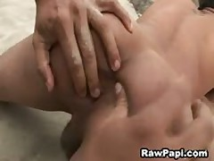 Sexy Gay Latino Asshole Fucking