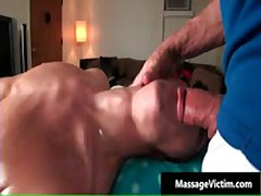 Brice Gets His Good Looking Pooper Homo Rubbed 6 By MassageVictim