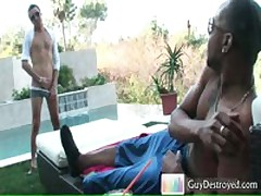 Justin Benjamin Fucking And Sucking Big Black Cock 2 By GuyDestroyed