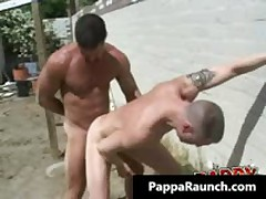 Intense Queer Hard Core Butt Making Out Queer Scene 2 By PappaRaunch