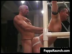 Insane Homo Hard Core Stinker Making Out Bdsm Homo Clip 1 By PappaRaunch