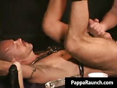 Extreme Homosexual Hard Core Anus Making Out Bondage Free Porn Scenes Three By PappaRaunch
