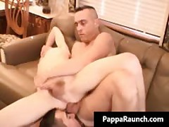 Extreme Homosexual Hard Core Poopshute Making Out 3some Clip Three By PappaRaunch