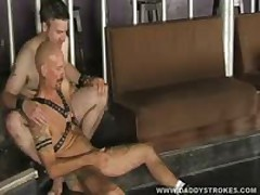 Leather  Jerking Off In Lads Embrace