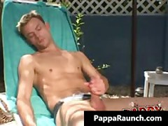 Extreme Gay Hardcore Asshole Fucking At The Pool Gay Video 1 By PappaRaunch